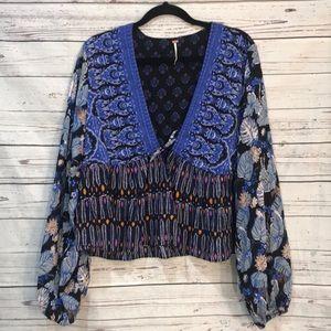 Free people boho blouse (V2
